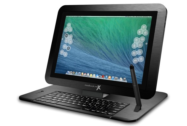 MacBook Pro-ul cu Retina Display transformat în tabletă prin Modbook