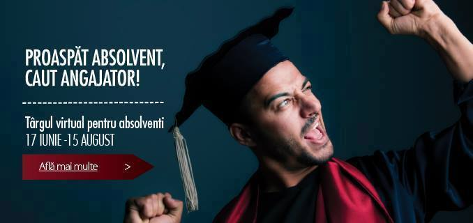 Independență financiară pentru absolvenți: Târgul Virtual Hipo.ro, cu 600 de locuri de muncă