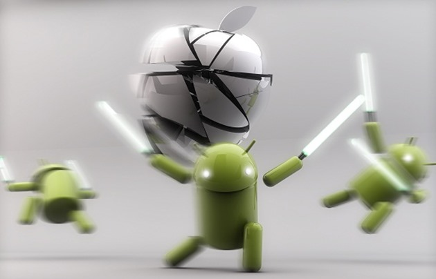 Android beats ios trafic online