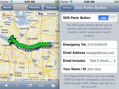 GPS-Location-Tracker-App
