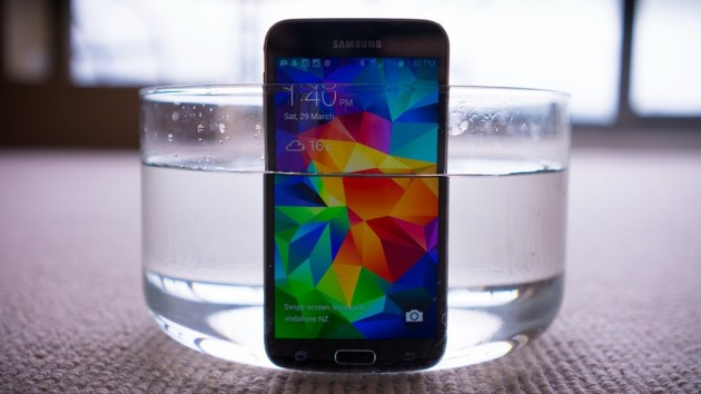 galaxy s5 als ice bucket challenge