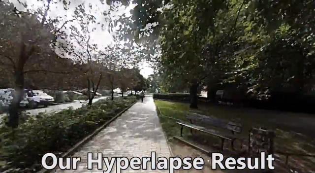Microsoft dezvăluie o tehnologie nouă pentru Hyperlapse