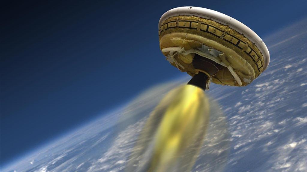Cum funcţionează farfuria zburătoare de la NASA? [VIDEO]