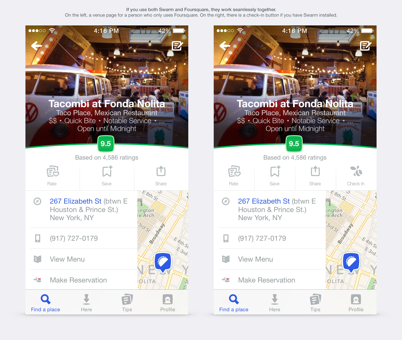 Foursquare devine o aplicație nouă, fără check-in [VIDEO]