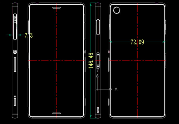 Sony Xperia Z3 și Z3 Compact apar în noi imagini