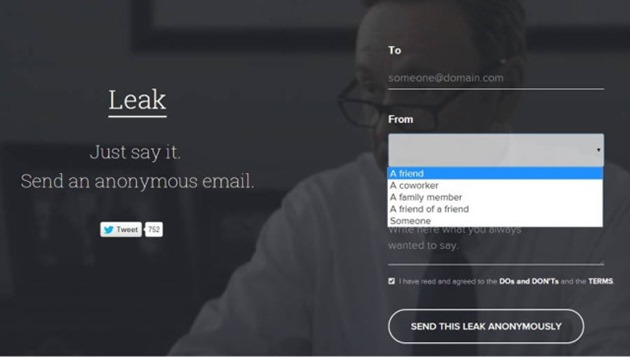 leak-email service