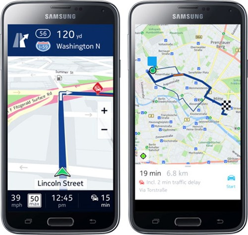 maps nokia here-android