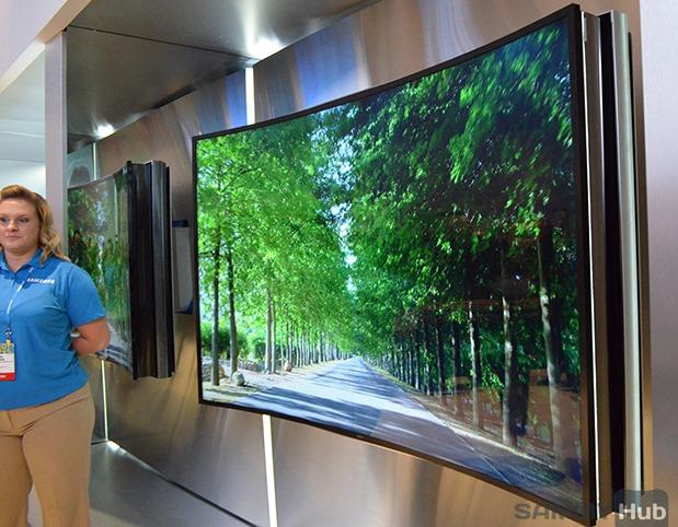 Samsung pregăteşte cel mai mare televizor flexibil pentru IFA 2014