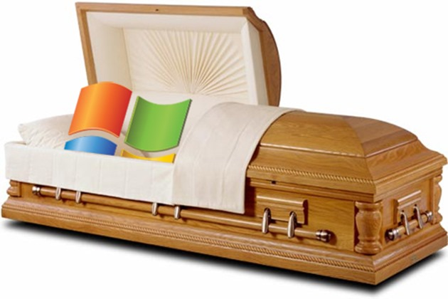 windows xp dead