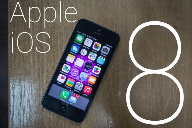 Apple, dat în judecată pentru dimensiunea update-ului iOS 8