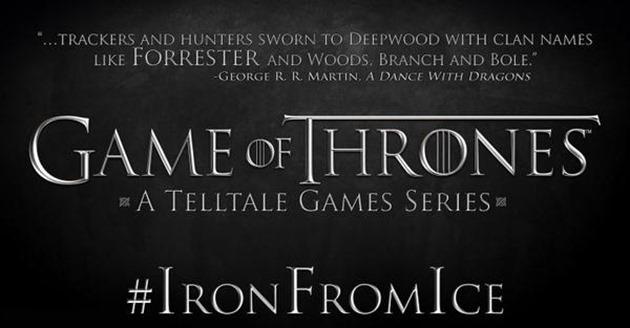 Games of Thrones Telltale Games