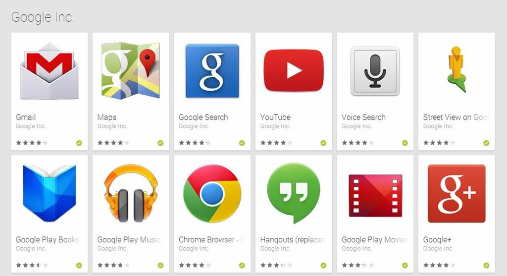 În curând, vom vedea mai multe aplicaţii Google preinstalate pe Android