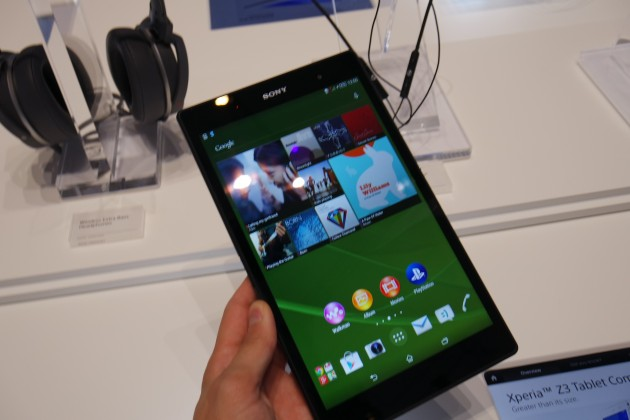 sony xpera z3 tablet compact
