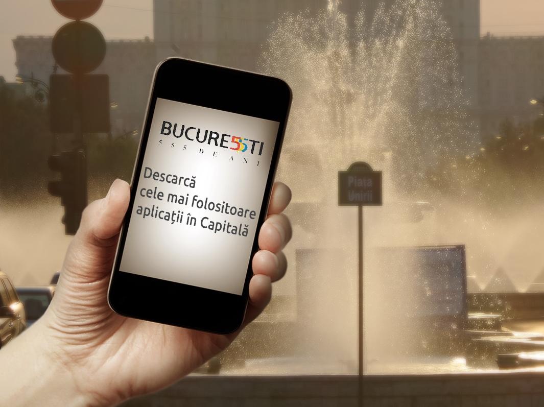 București 555: Descarcă cele mai folositoare aplicații în Capitală