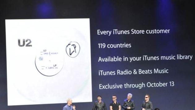 U2 Apple new album gratuit