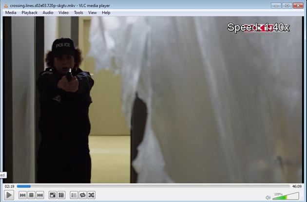 VLC Player speed