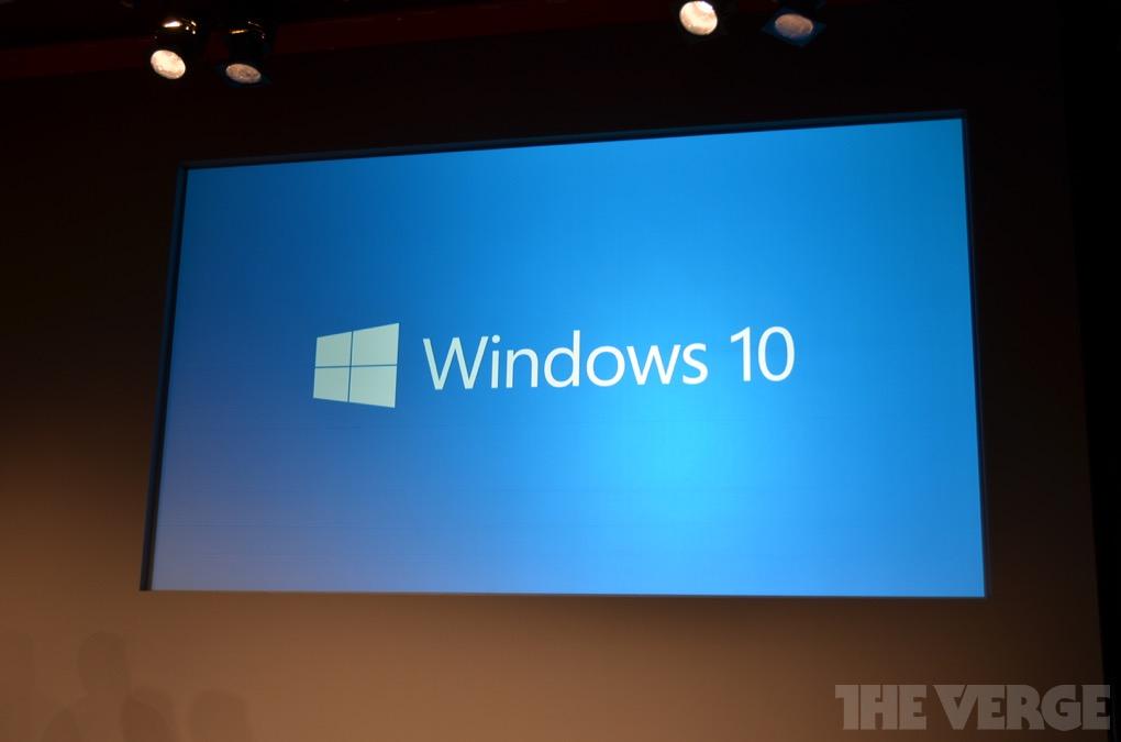 Microsoft a prezentat Windows 10