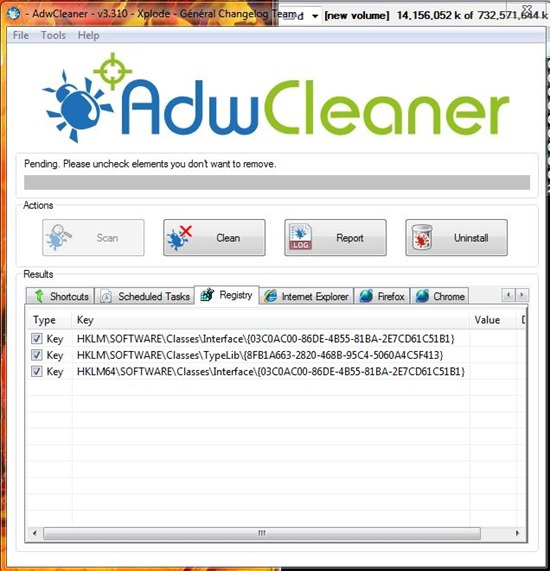 adwcleaner junkware adware removal