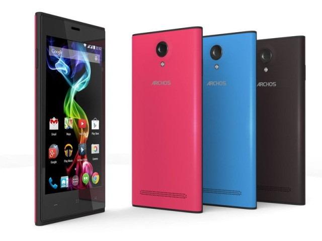 Noi telefoane de buget: Archos 45c Platinum şi 50b Platinum