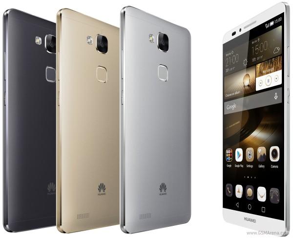 """""""Granzii"""" Huawei Ascend: Mate 7 cu cititor de amprente și G7 cu design bun și dotări modice"""