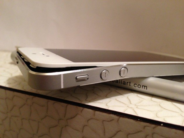 iphone 5 bent