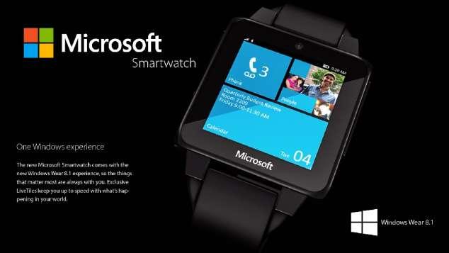 Cum ar putea arăta un Microsoft Smartwatch? [CONCEPT]