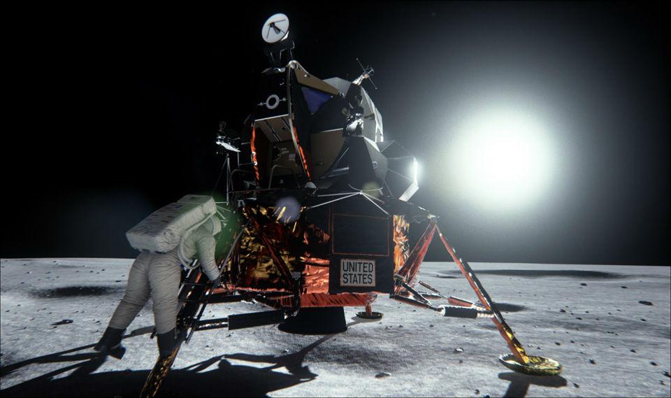 Cea mai bună placă video de la Nvidia demonstrează că omul a ajuns pe Lună