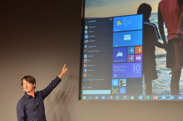 windows 10 prezentat joe belfiore