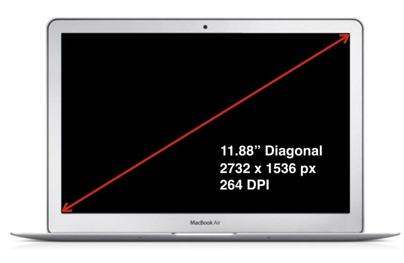 Apple pregătește un Macbook de 12 inci și ecran Retina