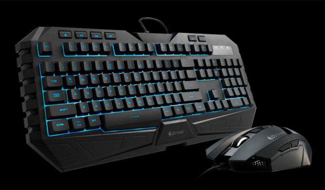 Combo-ul mouse+tastatură CM Storm Octane, combinație de buget