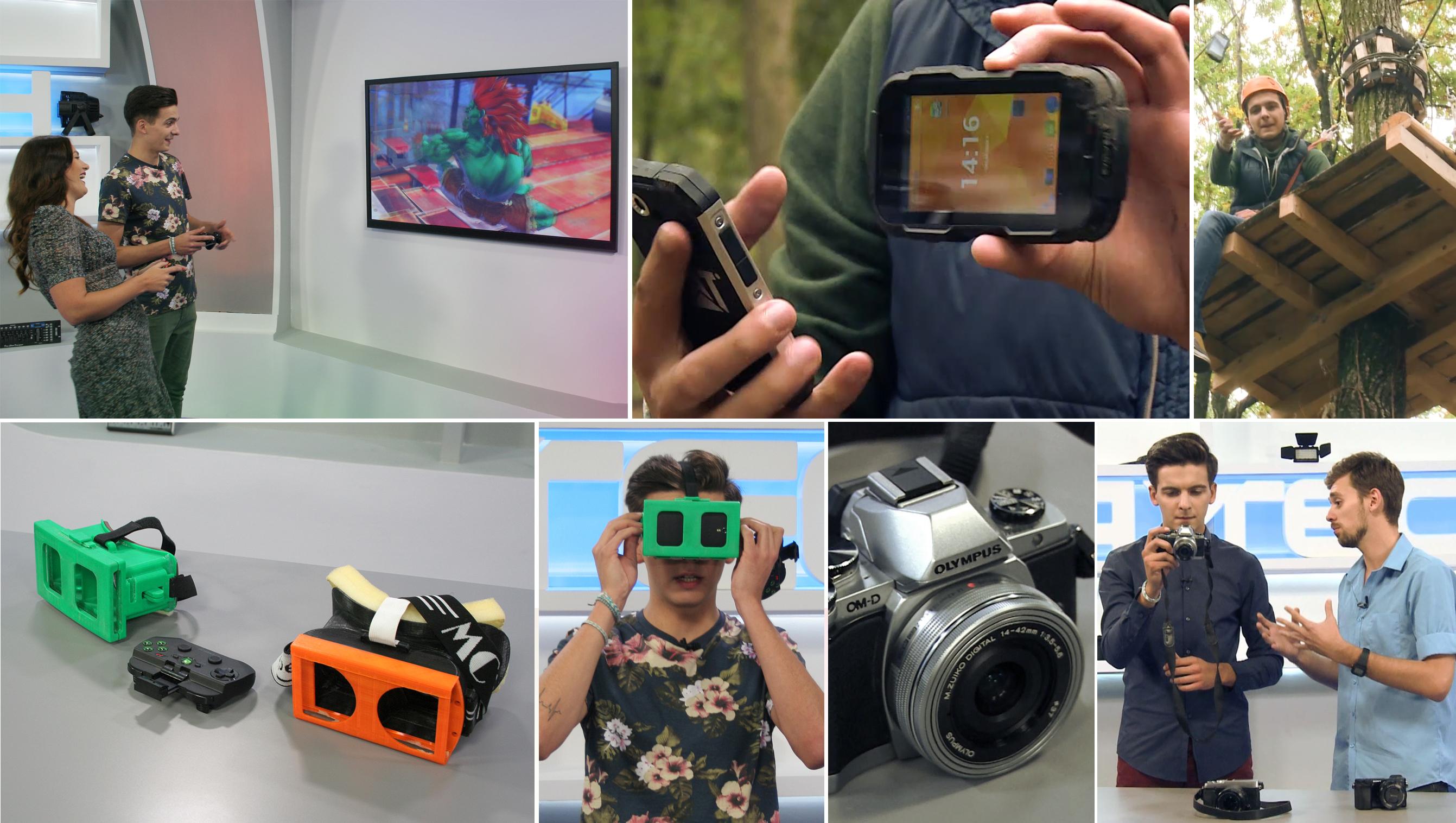 Emisiunea PLAYTECH: Trecem din realitate în realitatea virtuală cu un gadget făcut de un român