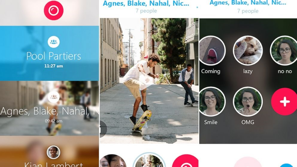 Skype Qik este o aplicaţie de mesagerie prin clipuri video