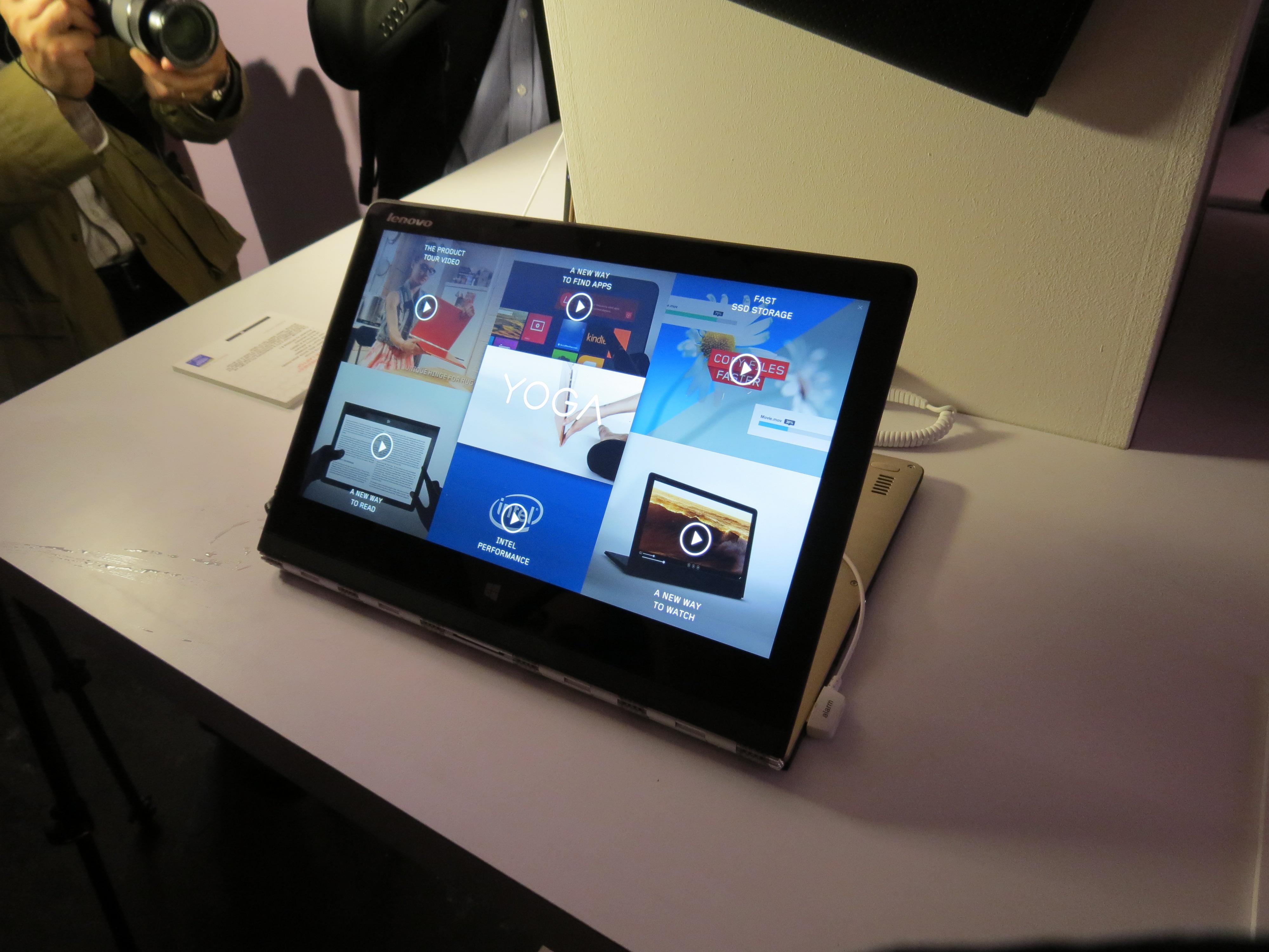 Prima impresie: Lenovo Yoga Pro 3 ar putea fi laptopul anului 2014