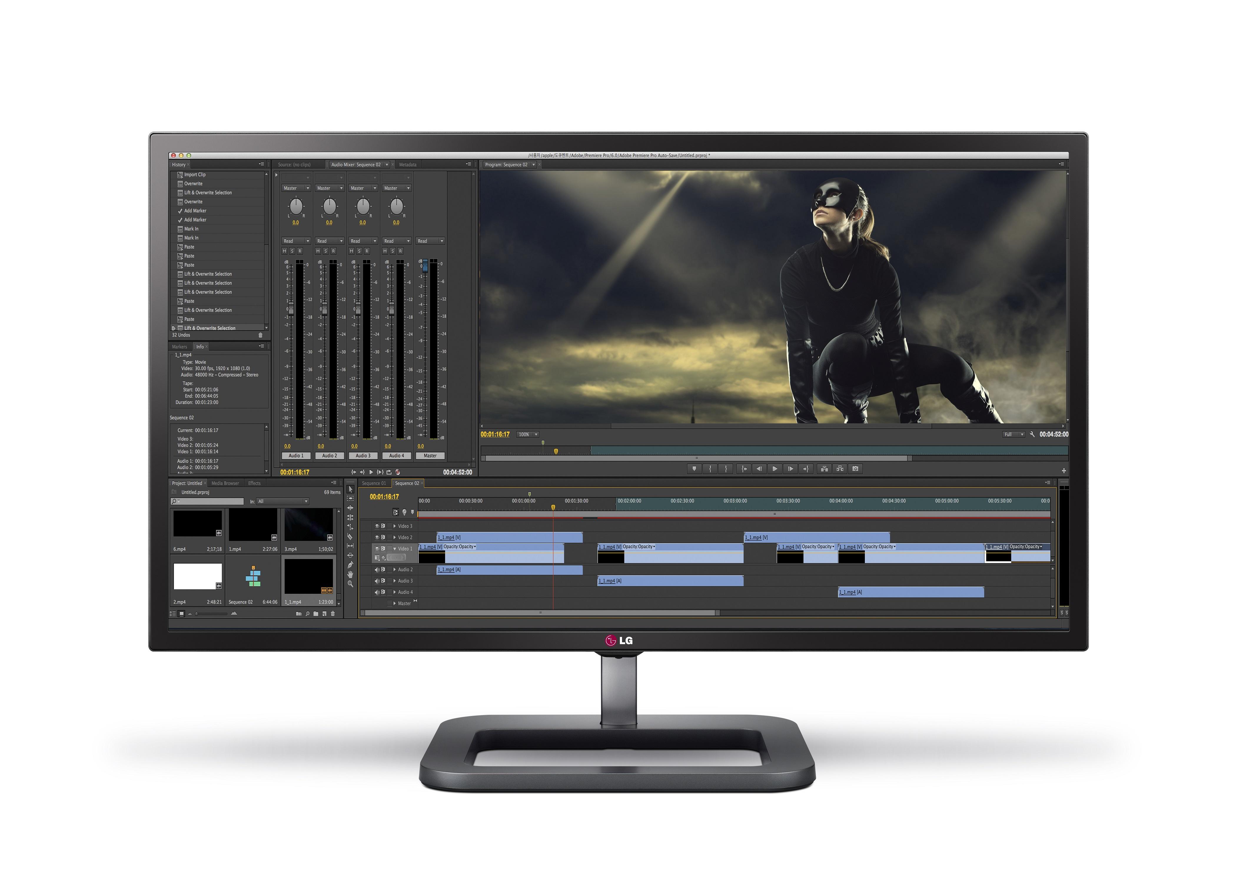 LG a lansat pe piață un nou monitor 4K