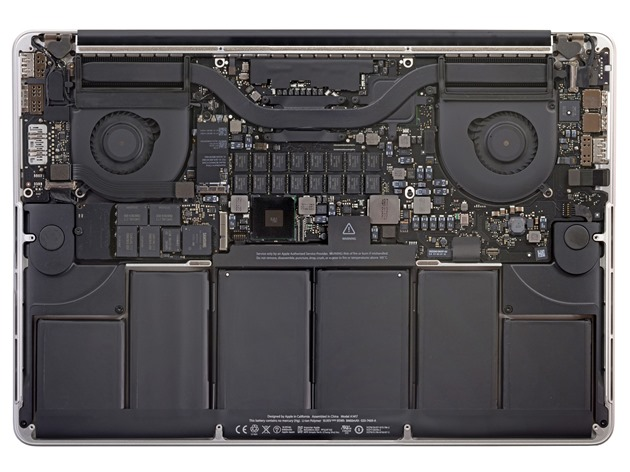 MacBook Pro Retina Display Inside