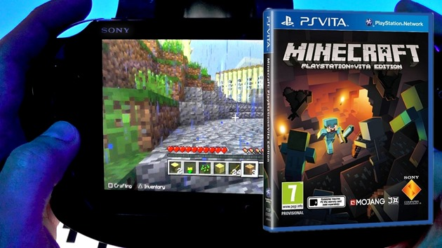 Minecraft-sony PS-Vita