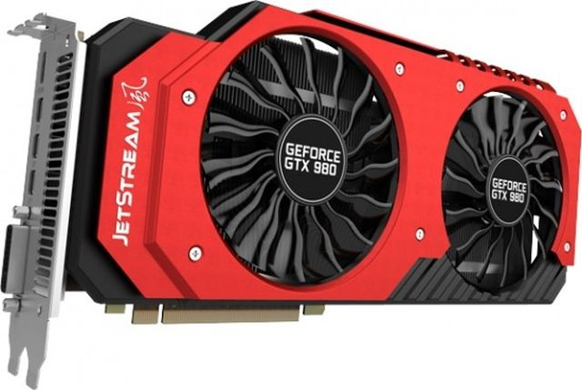 Palit anunță placa video GTX 980 Super-JetStream