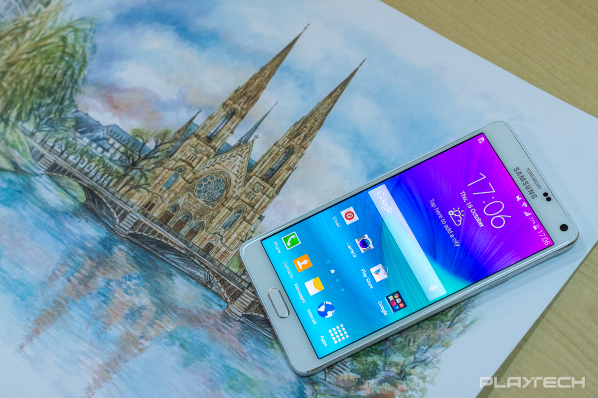 Samsung Galaxy Note 4 va beneficia de cel mai performant procesor Snapdragon