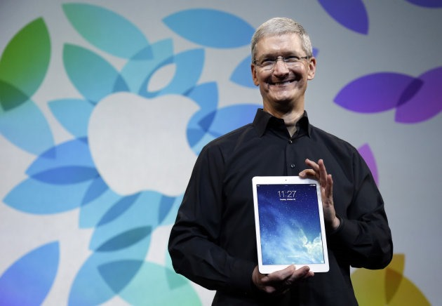 Tim Cook Apple iPad 2014 octombrie