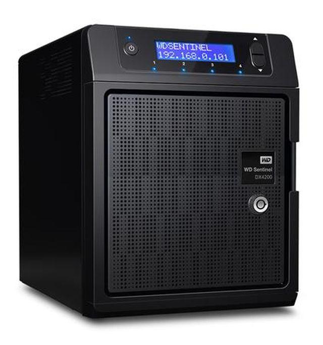 Western Digital lansează un nou NAS, WD Sentinel DX4200