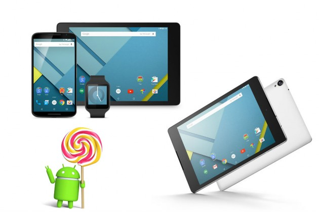 android 5 lollipop tablets si telefon