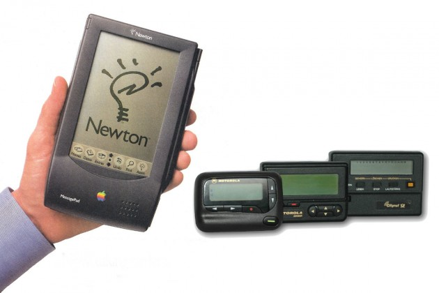apple newton si pager