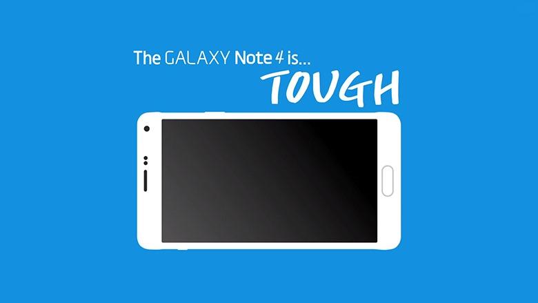 Şi Samsung Galaxy Note 4 se îndoaie… un pic [VIDEO]