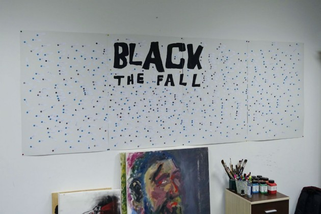 black the fall comunism