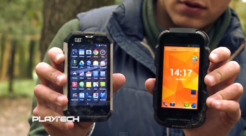 "Telefoanele ""indestructibile"" CAT B15 și Evolveo StrongPhone Q4 cad din copac [VIDEO]"