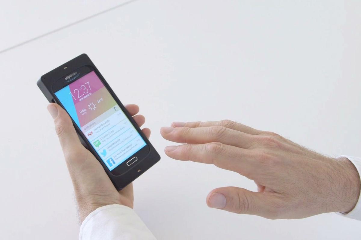 Controlul prin ultrasunete va fi noua dimensiune a interacțiunii cu telefonul