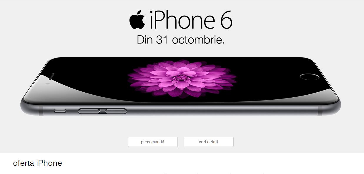 iPhone 6 și iPhone 6 plus, la precomandă la Orange