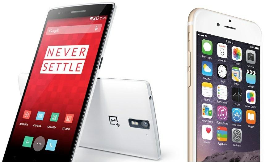 OnePlus One este mai tare decât iPhone 6 Plus doar pentru că nu se îndoaie