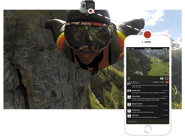 livestream-gopro ios iphone