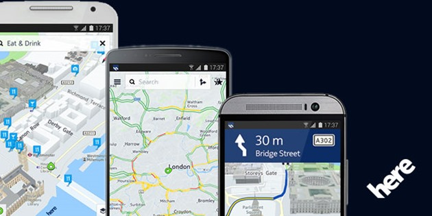 nokia-here-maps lansare android
